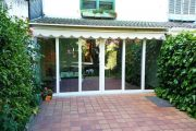 Cerramiento de terraza con corredera de PVC